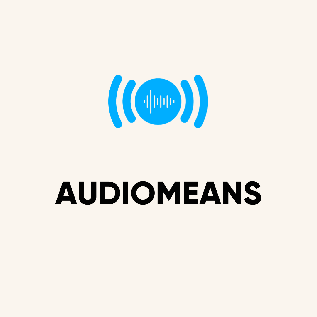 audio means