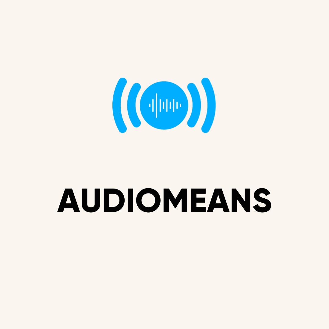 audio means